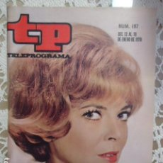 Coleccionismo de Revista Teleprograma: REVISTA TP TELEPROGRAMA Nº 197 MISION IMPOSIBLE. Lote 133736162
