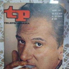 Coleccionismo de Revista Teleprograma: REVISTA TP TELEPROGRAMA Nº 199 JOSE BODALO. Lote 133736286