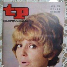 Coleccionismo de Revista Teleprograma: REVISTA TP TELEPROGRAMA Nº 226 MARIA JOSE ALFONSO. Lote 133742998