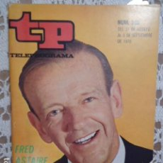 Coleccionismo de Revista Teleprograma: REVISTA TP TELEPROGRAMA Nº 230 FRED ASTAIRE. Lote 133743298
