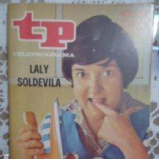 Coleccionismo de Revista Teleprograma: REVISTA TP TELEPROGRAMA Nº 237 LALY SOLDEVILA. Lote 133743746