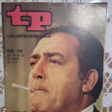 Coleccionismo de Revista Teleprograma: REVISTA TP TELEPROGRAMA Nº 250 VUELVE IRONSIDE. Lote 133747434