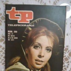Coleccionismo de Revista Teleprograma: REVISTA TP TELEPROGRAMA Nº 269 JANE EYRE. Lote 133749830