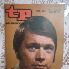 Coleccionismo de Revista Teleprograma: REVISTA TP TELEPROGRAMA Nº 272 ADIOS DOCTOR GANNON. Lote 133750066