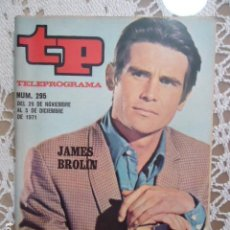 Coleccionismo de Revista Teleprograma: REVISTA TP TELEPROGRAMA Nº 295 JAMES BROLIN. Lote 133842194