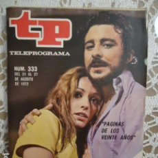 Coleccionismo de Revista Teleprograma: REVISTA TP TELEPROGRAMA Nº 333 PAJINAS DE LOS VEINTE AÑOS. Lote 133845370
