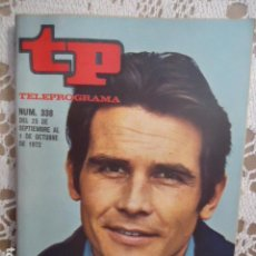Coleccionismo de Revista Teleprograma: REVISTA TP TELEPROGRAMA Nº 338 ADIOS JAMES BROLIN. Lote 133845674