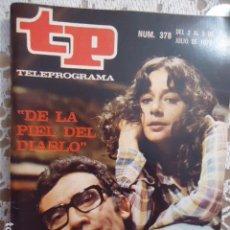 Coleccionismo de Revista Teleprograma: REVISTA TP TELEPROGRAMA Nº 378 DE LA PIEL DEL DIABLO. Lote 133849994