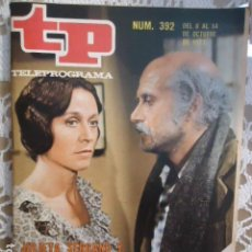 Coleccionismo de Revista Teleprograma: REVISTA TP TELEPROGRAMA Nº 392 UNA CARTA. Lote 133850794