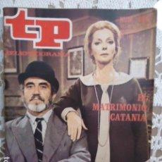 Coleccionismo de Revista Teleprograma: REVISTA TP TELEPROGRAMA Nº 396 EL MATRIMONIO CATANIA. Lote 133851586