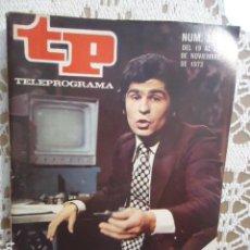 Coleccionismo de Revista Teleprograma: REVISTA TP TELEPROGRAMA Nº 398 EL HOMBRE DE LA MOVIOLA. Lote 133851702