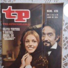 Coleccionismo de Revista Teleprograma: REVISTA TP TELEPROGRAMA Nº 426 OBLOMOV. Lote 133853222