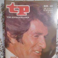 Coleccionismo de Revista Teleprograma: REVISTA TP TELEPROGRAMA Nº 441 INVESTIGACION. Lote 133953610