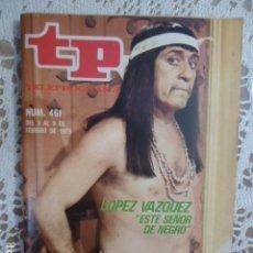 Coleccionismo de Revista Teleprograma: REVISTA TP TELEPROGRAMA Nº 461 ESTE SEÑOR DE NEGRO. Lote 133957170
