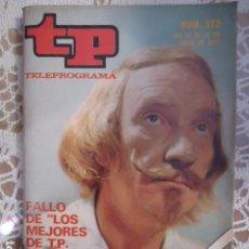 Coleccionismo de Revista Teleprograma: REVISTA TP TELEPROGRAMA Nº 472 LOS MEJORES TP 1974. Lote 133957890