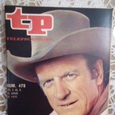 Coleccionismo de Revista Teleprograma: REVISTA TP TELEPROGRAMA Nº 478 EL SHERIFF DE CADA DOMINGO. Lote 133959254
