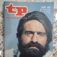 Coleccionismo de Revista Teleprograma: REVISTA TP TELEPROGRAMA Nº 486 QUADRA SALCEDO REPORTERO. Lote 133959810