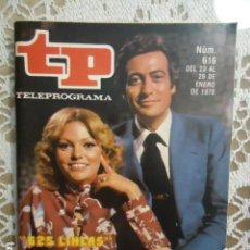 Coleccionismo de Revista Teleprograma: REVISTA TP TELEPROGRAMA Nº 616 625 LINEAS. Lote 133965418