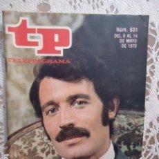 Coleccionismo de Revista Teleprograma: REVISTA TP TELEPROGRAMA Nº 631 RAMIRO OLIVEROS. Lote 133966706