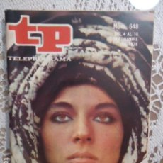 Collectionnisme de Magazine Teleprograma: REVISTA TP TELEPROGRAMA Nº 648 MARILU TOLO LA ENEIDA- TIENE EL RECORTABLE Nº10 DE MAZINGER Z. Lote 133970958