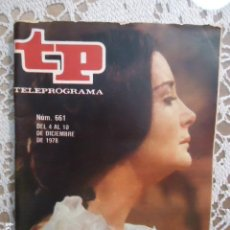 Collezionismo di Rivista Teleprograma: REVISTA TP TELEPROGRAMA Nº 661 LA DAMA DE LAS CAMELIAS. Lote 133972038