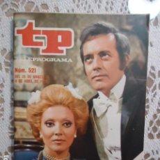 Coleccionismo de Revista Teleprograma: REVISTA TP TELEPROGRAMA Nº 521 PEQUEÑECES. Lote 133974462