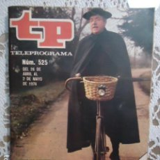 Coleccionismo de Revista Teleprograma: REVISTA TP TELEPROGRAMA Nº 525 EL PADRE BROWN. Lote 133974690