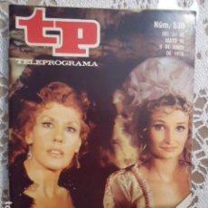 Coleccionismo de Revista Teleprograma: REVISTA TP TELEPROGRAMA Nº 530 EL COLLAR DE LA REINA. Lote 133974950