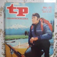 Coleccionismo de Revista Teleprograma: REVISTA TP TELEPROGRAMA Nº 535 KODIAK. Lote 133975254