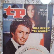Coleccionismo de Revista Teleprograma: REVISTA TP TELEPROGRAMA Nº 538 EL MAGO. Lote 133975402