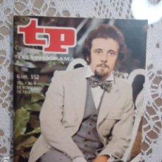 Coleccionismo de Revista Teleprograma: REVISTA TP TELEPROGRAMA Nº 552 EL IDIOTA. Lote 133975922
