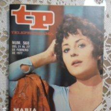 Coleccionismo de Revista Teleprograma: REVISTA TP TELEPROGRAMA Nº 568 TERESA CABARRUS. Lote 133976826
