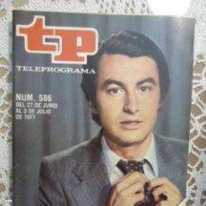 Coleccionismo de Revista Teleprograma: REVISTA TP TELEPROGRAMA Nº 586 LALO AZCONA. Lote 133977406
