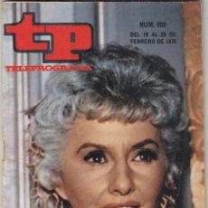 Coleccionismo de Revista Teleprograma: REVISTA TP TELEPROGRAMA Nº 202 AÑO 1970. BARBARA STAMWYCK. . Lote 134092638