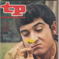 Coleccionismo de Revista Teleprograma: REVISTA TP TELEPROGRAMA Nº 211 AÑO 1970. PAJARES. LOS KUBALA BOYS. . Lote 134092778
