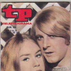 Coleccionismo de Revista Teleprograma: REVISTA TP TELEPROGRAMA Nº 209 AÑÓ 1970. EMILOP G. CABA Y MARIBEL MARTIN EN HAMLET. OTRO APOLO. . Lote 134093290