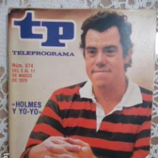 Collezionismo di Rivista Teleprograma: REVISTA TP TELEPROGRAMA Nº 674 HOLMES Y YO-YO. Lote 134407014