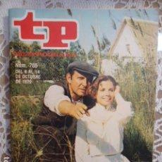 Coleccionismo de Revista Teleprograma: REVISTA TP TELEPROGRAMA Nº 705 LA BARRACA. Lote 134409538