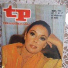 Collezionismo di Rivista Teleprograma: REVISTA TP TELEPROGRAMA Nº 723 MONICA RANDALL. Lote 134411930