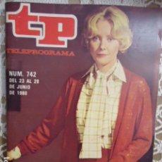 Coleccionismo de Revista Teleprograma: REVISTA TP TELEPROGRAMA Nº 742 SEGUNDA PARTE DE LA FUNDACION. Lote 134413670