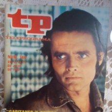Coleccionismo de Revista Teleprograma: REVISTA TP TELEPROGRAMA Nº 746 CAPITANES Y REYES. Lote 134413962