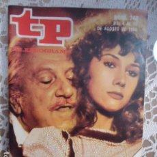 Coleccionismo de Revista Teleprograma: REVISTA TP TELEPROGRAMA Nº 748 CAÑAS Y BARRO. Lote 134414114
