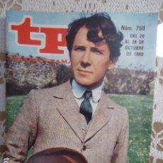 Coleccionismo de Revista Teleprograma: REVISTA TP TELEPROGRAMA Nº 759 PENMARRIC. Lote 134415742