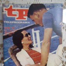 Coleccionismo de Revista Teleprograma: REVISTA TP TELEPROGRAMA Nº 761 EDUARDO Y LA SRA. SIMPSON. Lote 134415950