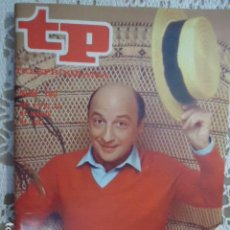 Coleccionismo de Revista Teleprograma: REVISTA TP TELEPROGRAMA Nº 780 RAUL SENDER. Lote 134417622