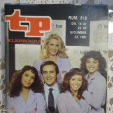 Coleccionismo de Revista Teleprograma: REVISTA TP TELEPROGRAMA Nº 819 GOL Y AL MUNDIAL 82. Lote 134421110