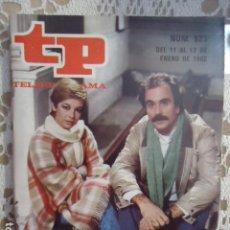 Coleccionismo de Revista Teleprograma: REVISTA TP TELEPROGRAMA Nº 823 ISABEL TENAILLE. Lote 134422046