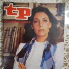 Coleccionismo de Revista Teleprograma: REVISTA TP TELEPROGRAMA Nº 836 CHARO LOPEZ. Lote 134574366