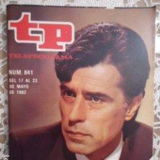 Coleccionismo de Revista Teleprograma: REVISTA TP TELEPROGRAMA Nº 841 SU TURNO. Lote 134575942