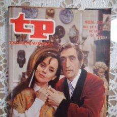 Coleccionismo de Revista Teleprograma: REVISTA TP TELEPROGRAMA Nº 842 VERDE QUE TE QUIERO VERDE. Lote 134576010